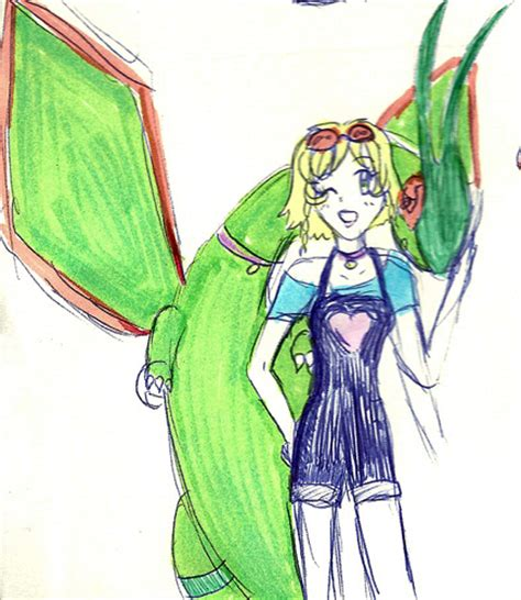 how to use doodle trainer flygon and trainer doodle by ichigobunny on deviantart