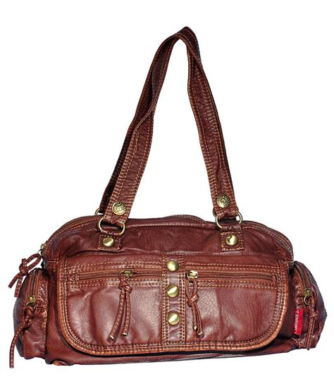 Speaking Of Handbags by Buy Language Shoulder Bag Brown At Best Prices In India