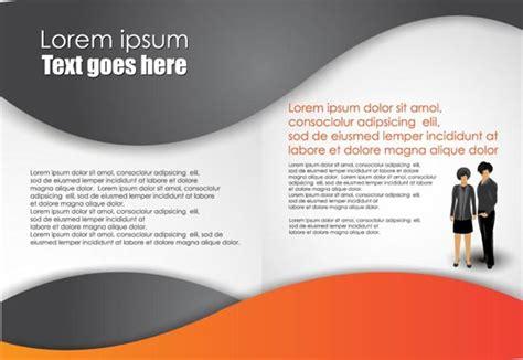 vector leaflet design eps business brochure vector design