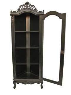 black corner armoire antique furniture swedish pine corner cabinet rustic