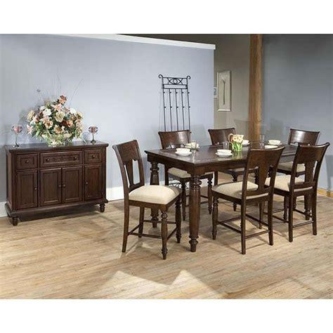 san antonio counter height dining room set  eci furniture furniturepick