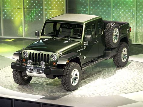 jeep prototype truck 2005 jeep gladiator concept pictures review