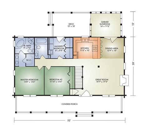 Open Concept Cabin Floor Plans by Open Concept Log Home Floor Plans Thecarpets Co