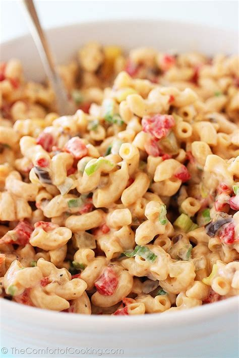creamy pasta salad recipe best ever creamy macaroni salad salads pinterest