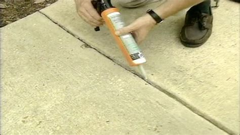 How to Seal Expansion Joints in a Concrete Driveway