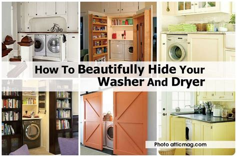 how to hide washer and dryer how to hide washer and dryer how to beautifully hide your