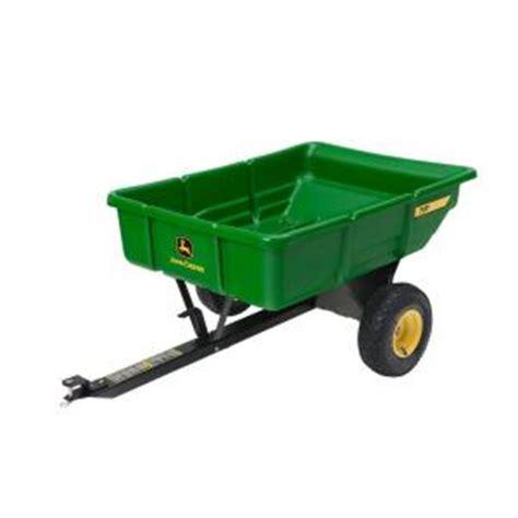 John Deere Home Depot Gift Card - john deere 450 lb 7 cu ft tow behind poly utility cart lp21935 the home depot