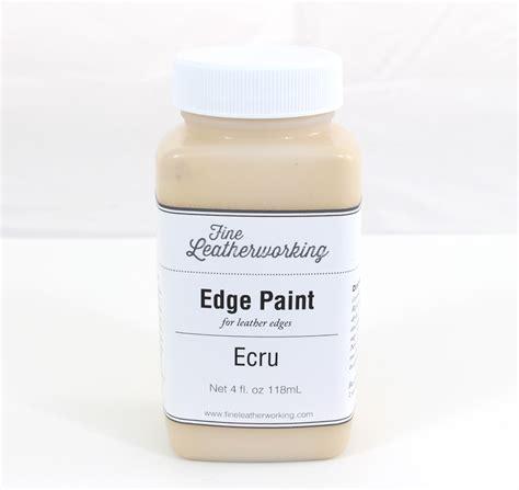 leather edge paint ecru