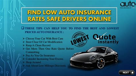 Low Rate Auto Insurance by Get The Most Beneficial Cheapest Insurance Rates Autos