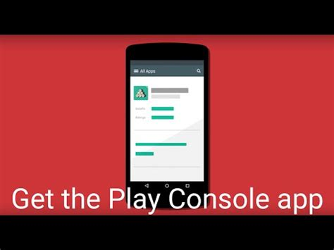 console googleplay play console android apps on play