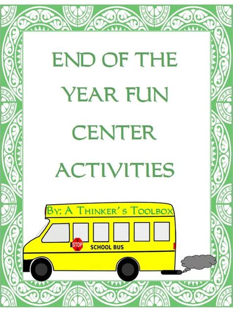 kindergarten activities end of the year 17 best images about end of the year activities on