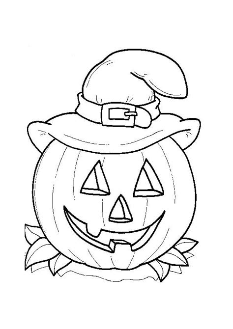 easy coloring pages for halloween easy halloween coloring pages for kids hallowen coloring