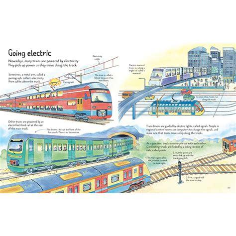 Usborne See Inside Trains usborne see inside trains flap book babyonline