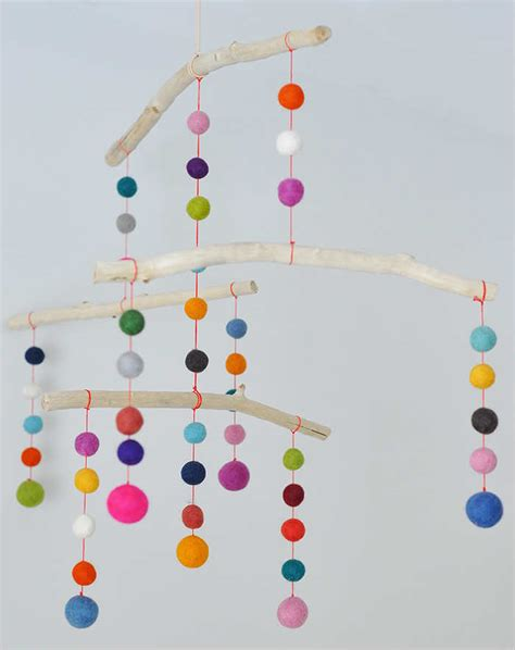 Kids Mini Chandelier 10 Diy Baby Mobiles Tinyme Blog