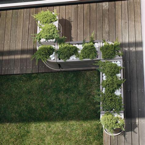 vasi per terrazzo vaso a parete per piante themis nicoli