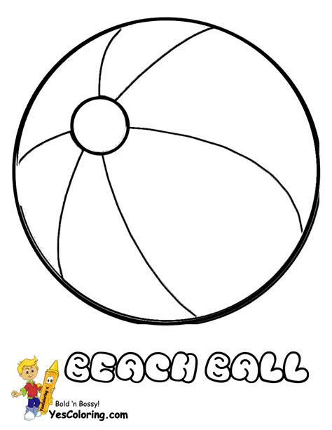 beach ball coloring pages printable printable coloring pages