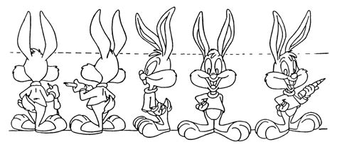 buster bunny coloring pages pokemon model sheets images pokemon images
