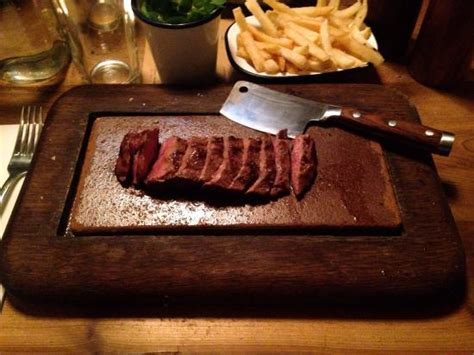 flat iron steak house flat iron steak picture of flat iron beak street london tripadvisor