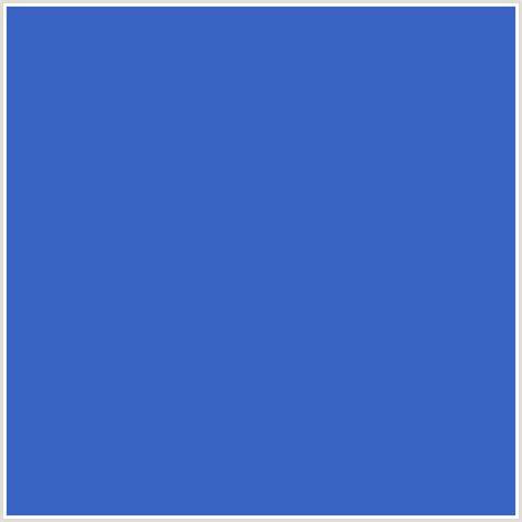 indigo blue color 3964c3 hex color rgb 57 100 195 blue indigo