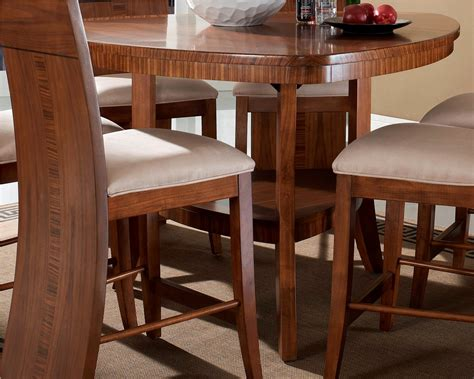 milan triangular counter height table from somerton