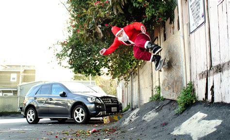 skateboard skateboarding skate christmas santa g wallpaper