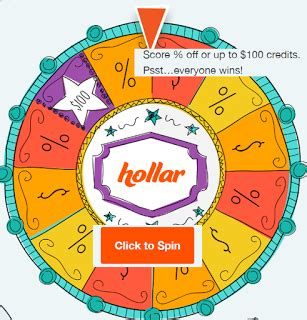 Instant Wins Online - hollar instant win game