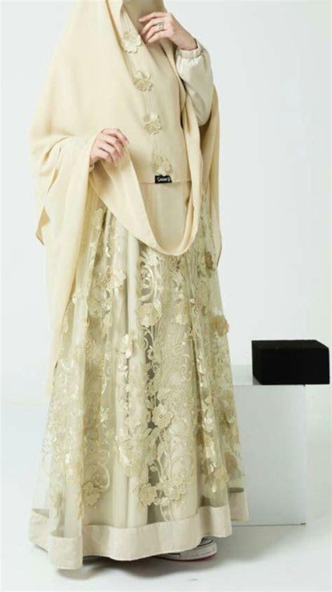 gamis syari bridal 21 best gaun pengantin muslimah nikahnya com images on