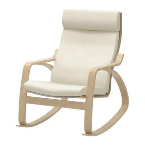 poang rocking chair cover po 196 ng rocking chair glose eggshell birch veneer ikea
