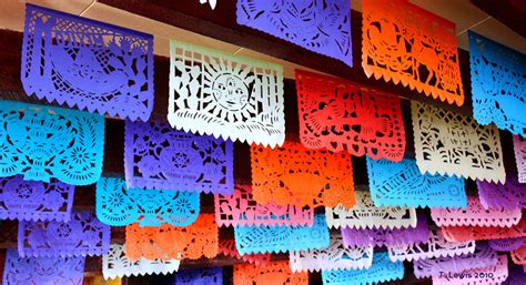 How To Make Mexican Paper Banners - papel picado timlewisnm flickr