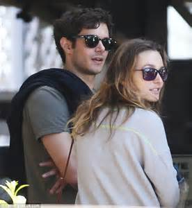 leighton meester with husband adam brody for intimate