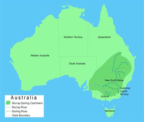 australia river map river australia map