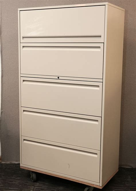 5 Drawer Lateral Filing Cabinet Haworth 950 Haworth Lateral File Cabinet