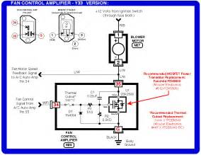fix the fan control amplifier on your infiniti q45 or