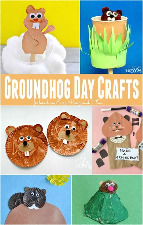 groundhog day supplies groundhog day crafts for craft