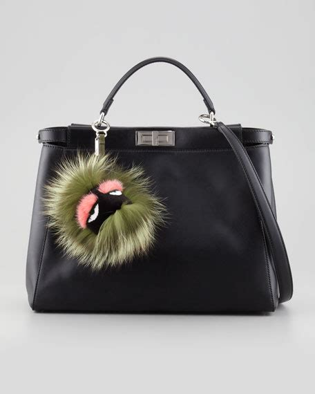 Fendi Handbag Charm fendi fur charm for handbag