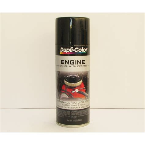 dupli color black dupli color engine enamel black aerosol automotive paint