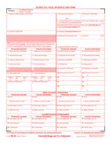 w2c template 2014 2017 form irs w 2c fill printable fillable