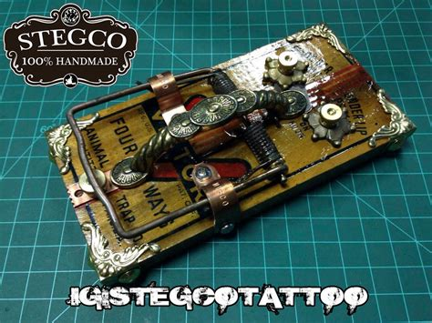 Handmade Footswitch - made foot switch rat trap by stegco on deviantart