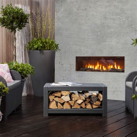 outdoor fireplace outdoor gas fireplace modus fireplaces