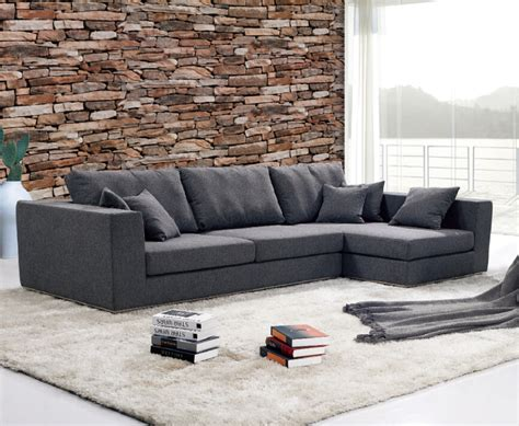 Godrej Sofa by Modern Noble Black Leather Or Fabric L Shaped Sofa