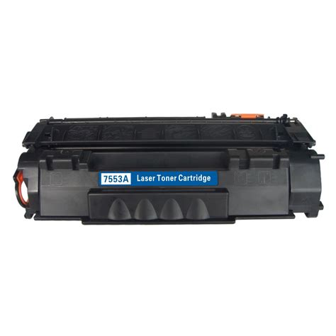 Toner Cartriadge Q7553a 53a Toner Hp 53a Compatible Grade A hp q7553a 53a laser toner black compatible 3000 pages