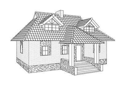 how to draw a house plan step by step how to draw a house step by step
