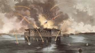April 12 2011 marks 150 years since the firing on fort sumter and the