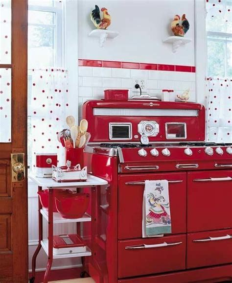 red appliances for kitchen red vintage kitchen appliances pinterest