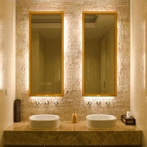 Backlit Bathroom Vanity Mirrors Backlit Vanity Mirrors Id Pinterest