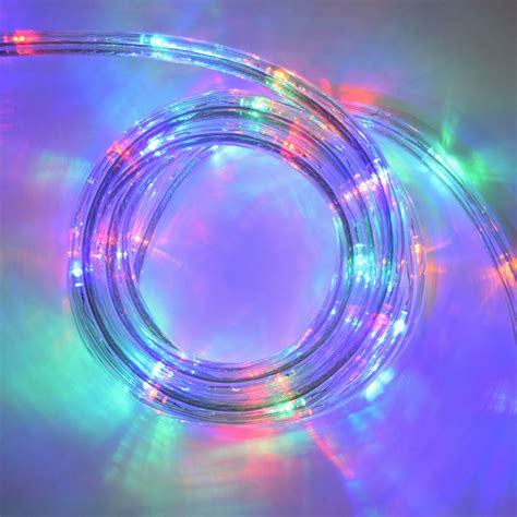 multi color led lights multi color led flat rope light