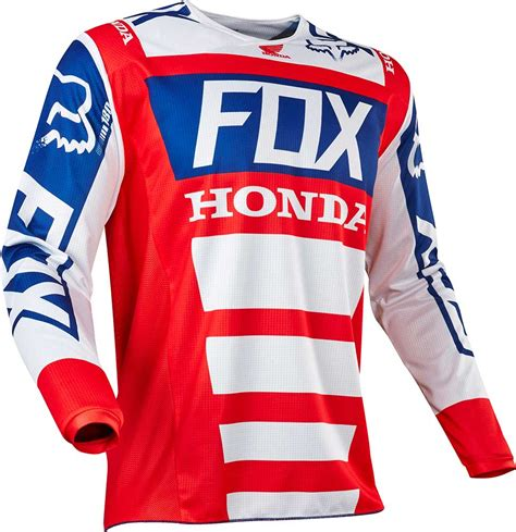 honda motocross gear 2017 fox racing 180 honda jersey mx motocross off road