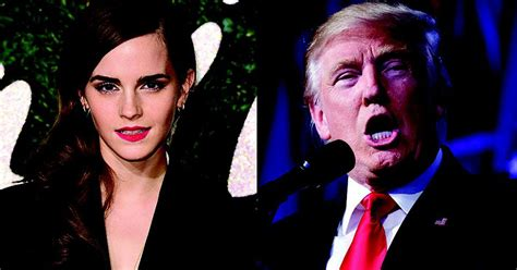 emma watson on trump emma watson had an awesome response to trump becoming