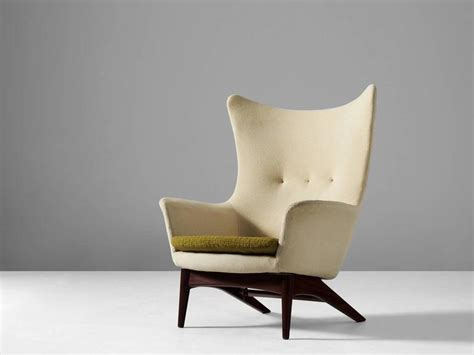 Reclining Wingback by H W Klein Reclining Wingback Chair For Sale At 1stdibs