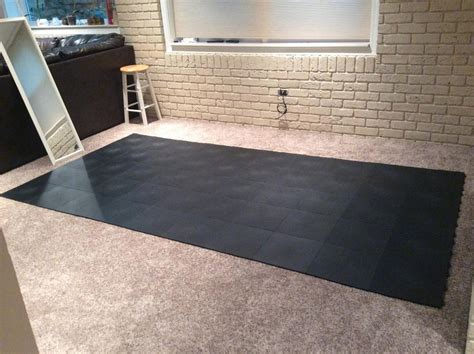 100 exercise floor mats carpet cap